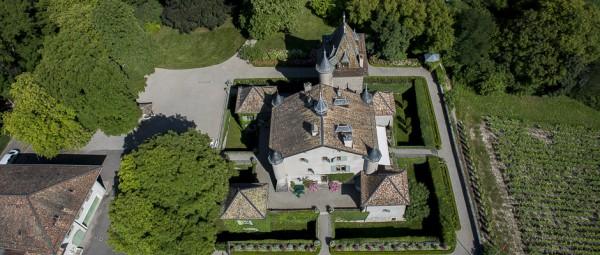DRONE I2N chateau patrimoine paysage valorisation agricole