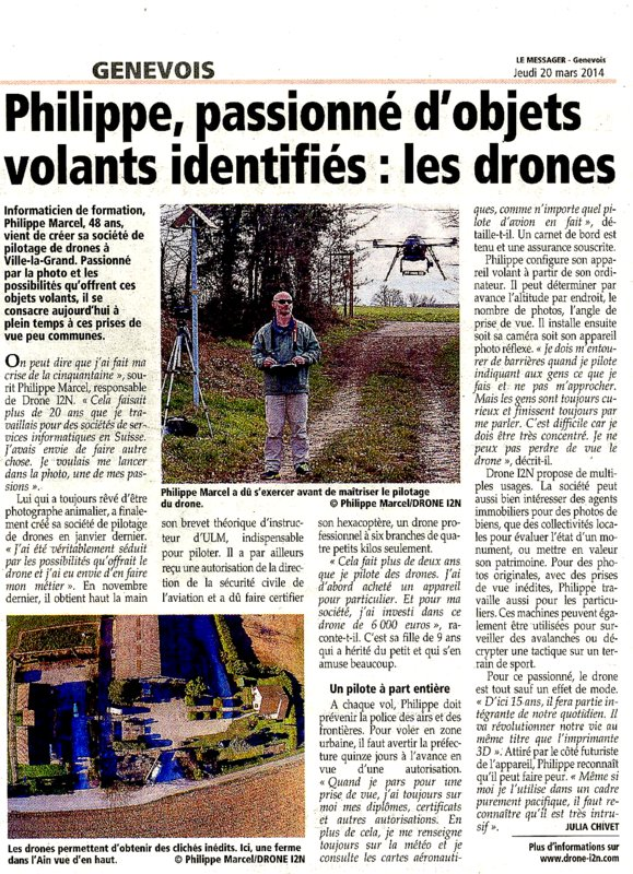 DRONE I2N LE MESSAGER
