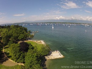 Bol d'or Genève, drone